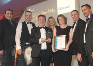 Sustainability Award - Tayside Contracts
