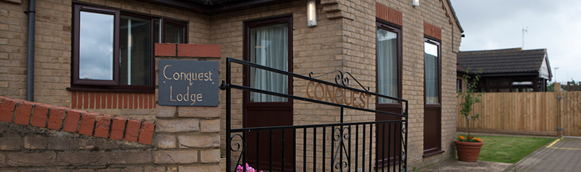 conquest lodge residential care home banner