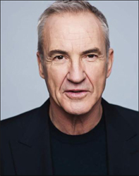 Gavin & Stacey's very own silver fox, Larry Lamb,