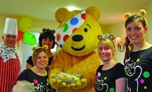 Pudsey's visit is icing on the cake
