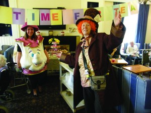Mrs. Pots and the Mad Hatter