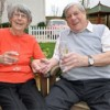Diamond Couple Receive Congratulations From The Queen