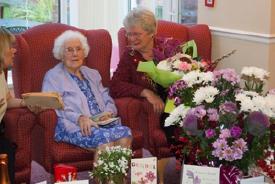 Centenarian-Elsie-Hall-turned-102