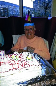Ina Carruthers Turns 104