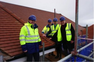 Hartford Care Celebrates 'Topping Out' At Abbotswood Court