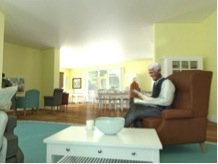 Care Home Resident In Room