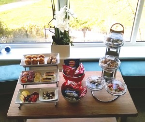 A-snack-selection-ready-for-residents-at-Anchor's-Buckingham-Lodge-care-home