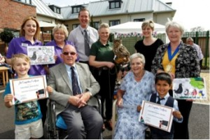 Falconry Event A Flyaway Success At Care UK Home