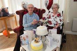 Gateshead Care Home Diamond Wedding Anniversary