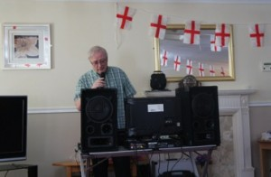 St. George's Day Celebrations At Stockton Care Home