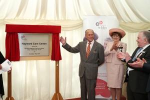 HRH unveiling plaque-1