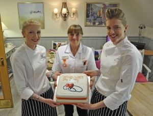 Care homes say 'thank you' to the nurses
