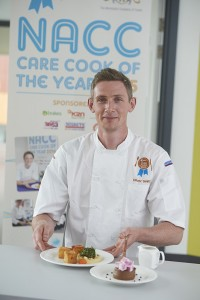 Oliver Smith and his winning dishes.