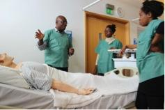 Students in virtual ward