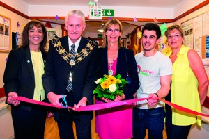 Image 4 - The Mayor and Mayoress of Epsom and Ewell, councillors Christopher and Elizabeth Frost, officially open the Appleby House art gallery