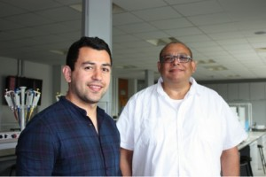 Dr Mohsen Seifi (left) and Dr Jerome Swinny (right)