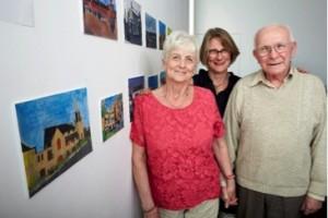 Art Display By Wallsall Dementia Cafe