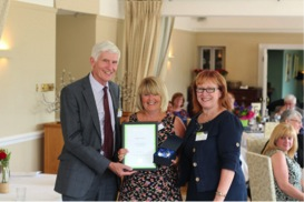 Gwent Carer 26th Anniversary at Shaw Healthcare