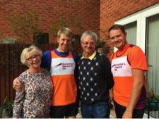 Paula, Chris, Kevin and Ian Stilgoe