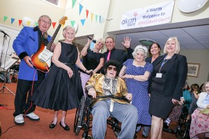 Staff, residents and guests celebrate Wheatfield Court's 20th anniversary