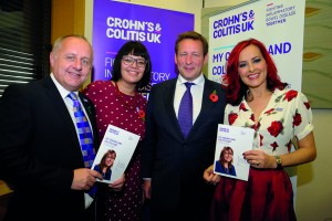 Crohn's and Colitis UK Parliament launch