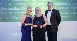 Mary Tasker, manager of The Hawthorns in Evesham and winner of the Best Dementia Continence Care Award at the National Dementia Care Awards