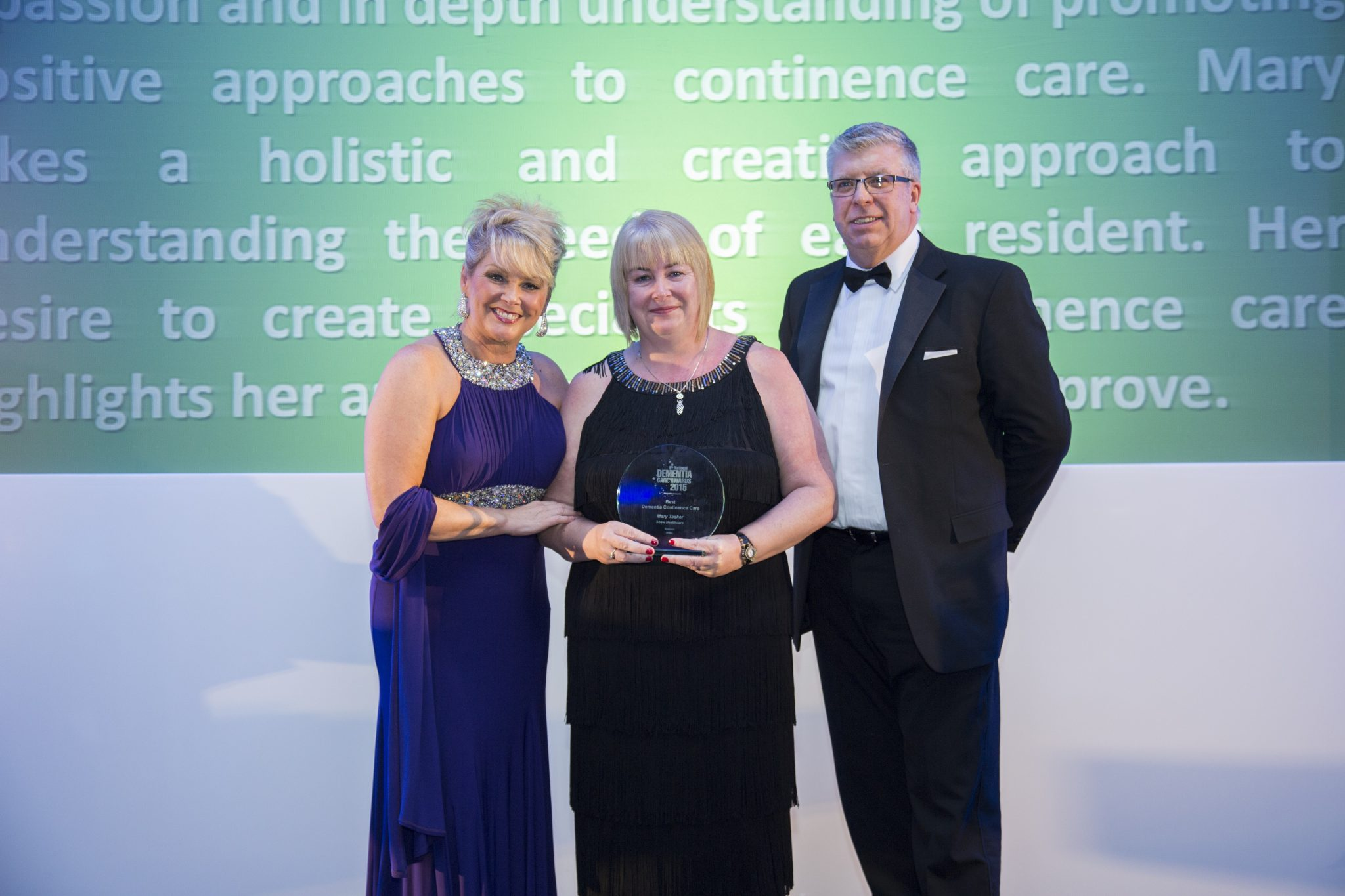 Mary Tasker manager of The Hawthorns in Evesham and winner of the Best Dementia Continence Care Award at the National Dementia Care Awards