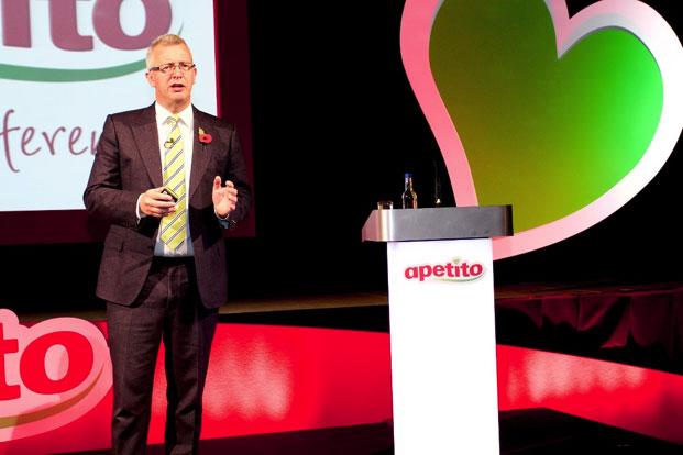 Paul Freeston CEO of apetito