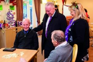 LtoR: John Letford (92), Alex Neil MSP, Sergio Amosso (84), Ann Conlan