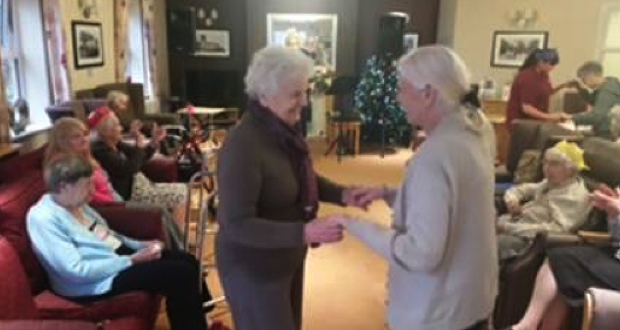 Care Home Creates Cherished Moments For Local Community Group