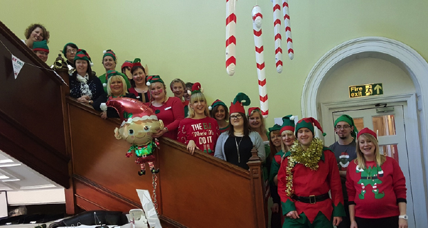 Lincolnshire Care Home Provider Goes Elf for Alzheimers Society