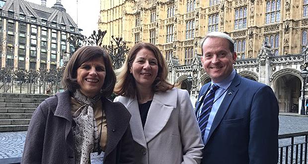 MP Pauline Latham Hosts The University Of Derby