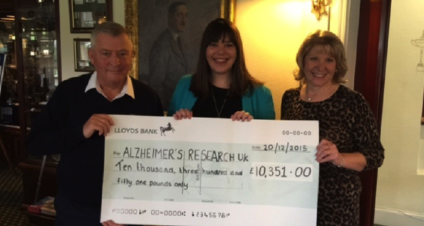 Verulam Golf Club Challenges Dementia With 10k Boost For Research