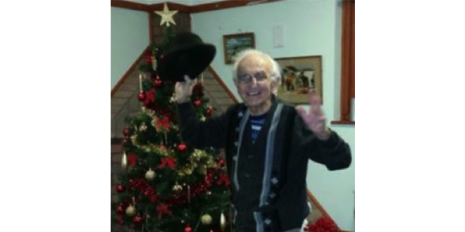 93 Year Old Care Home Resident Waltzes To Victory In National Exercise Competition crop
