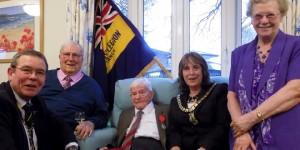 94-Year-Old-War-Veteran-Receives-Prestigious-Military-Award-At-Ferndown-Care-Home