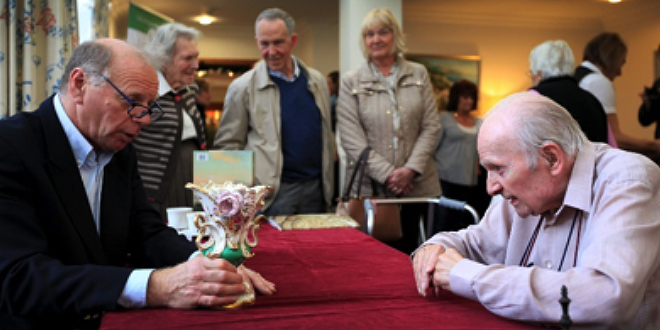 Care Home Hosts Antiques Roadshow Style Valuation Day