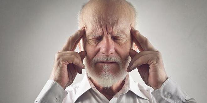old man thinking hard