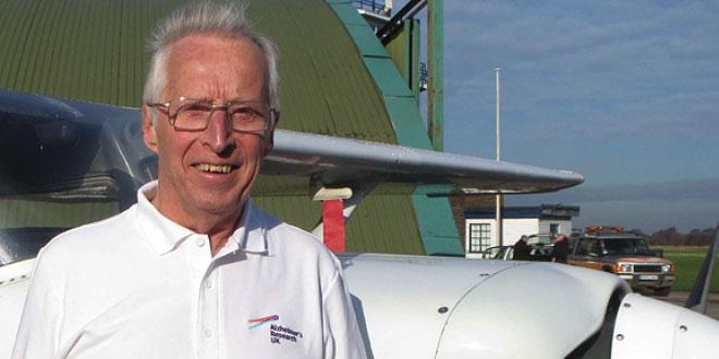 Alzheimer's Research UK Champion Fred Walker