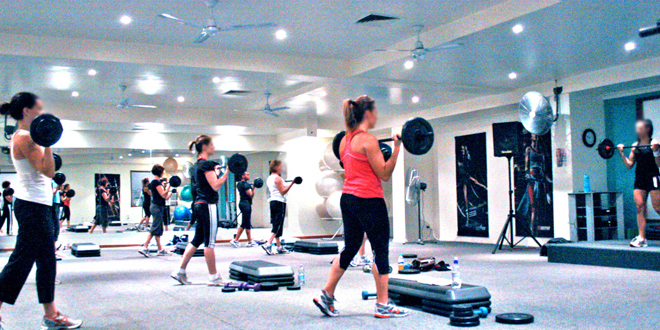 Barbell Group Fitness Class