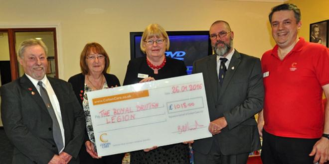Care Homes Fantastic Efforts Praised By Royal British Legion