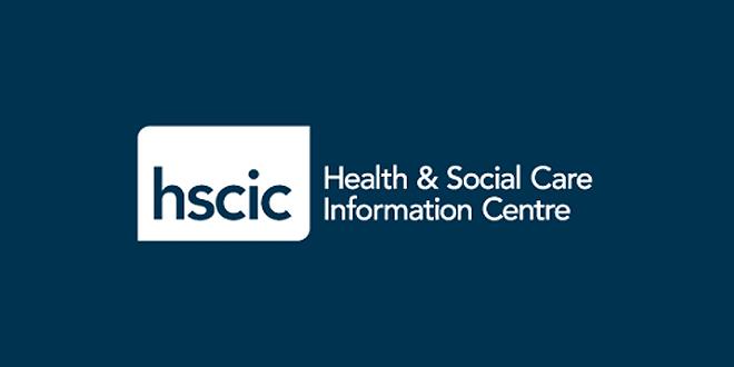 HSCIC logo blue bg
