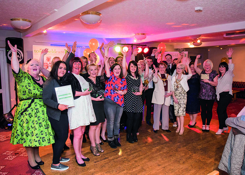 Award winners celebrate
