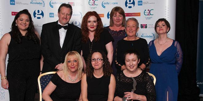 Buckinghamshire Care Scoops National Award