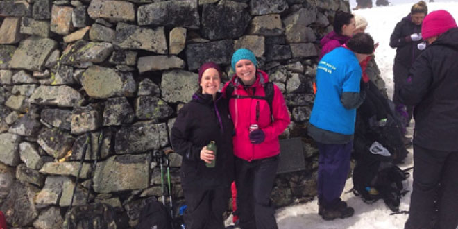 Fundraising Trek To The Top Of Britain For Older People Suffering From Dementia