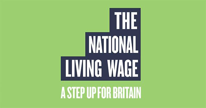 National Living Wage Logo