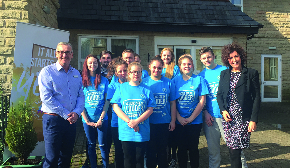 Sheff Wednesday NCS with Hill Cares Simon Shires and Marcia Crossland