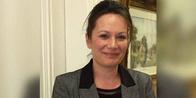 Virginia Perkins head of HR at Springhill