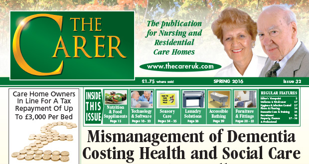 The Carer Issue 32 April 16 2