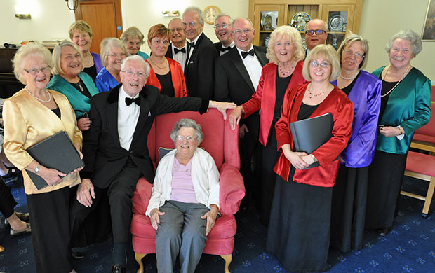 Singers Strike a Chord with Care Home Residents