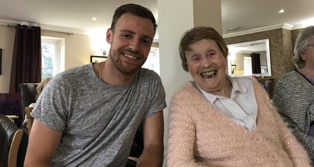 Margaret Lister met Matt Bailey